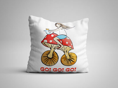 Go! Go! Go! (Pillow)